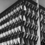 """Josef Iliu - """"Architecture, projet de façade"""", tirage en noir et blanc, cachet d'atelier au dos"""
