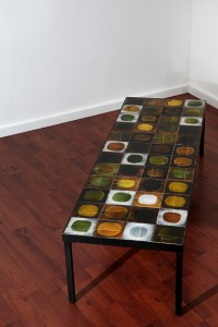 Roger Capron - table basse en carreaux de céramique