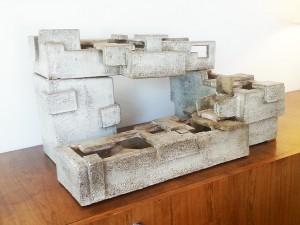 Fontaine en céramique par Marius Bessone - Vallauris