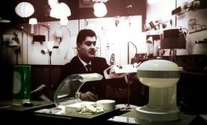 Joe Colombo et quelques unes de de ses lumineuses créations