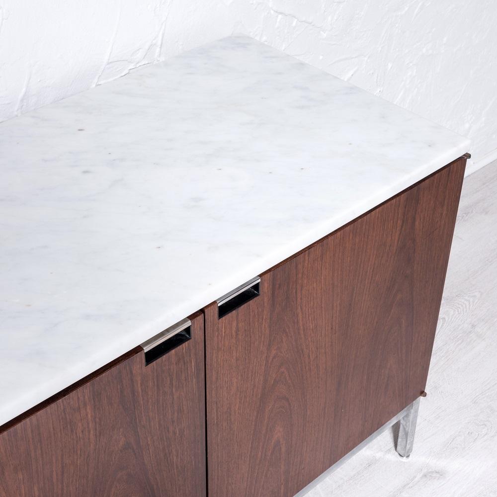 enfilade en palisandre par florence knoll mggalerie. Black Bedroom Furniture Sets. Home Design Ideas